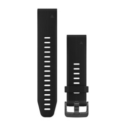 Garmin 010-12739-00 Quick Fit Silikonarmband für fenix 5S PLUS