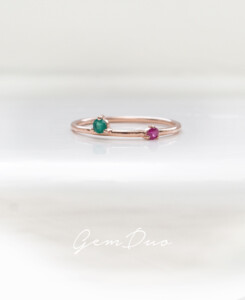 GEM DUO|Ring Bunt