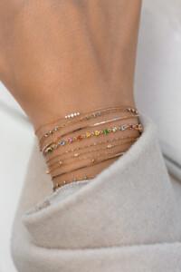 GEM MEDLEY Armband rosé vergoldet