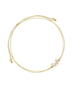 GEMMY BUTTERFLY Armband Gold