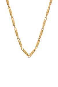 GLARE Halskette gelb vergoldet