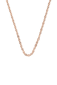 GLEAMING SAUTOIR Halskette rosé vergoldet