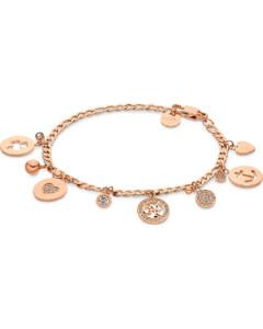 GMK Collection Damen-Armband Edelstahl 60 Zirkonia