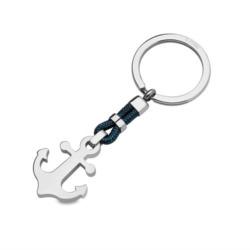Gravierbarer Schlüsselanhänger Anker aus Edelstahl