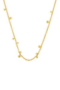 GYPSY Halskette gelb vergoldet