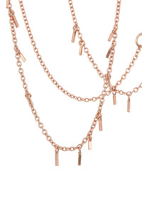 GYPSY Halskette Rosé vergoldet