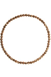 Hämatit Armband bronze plated