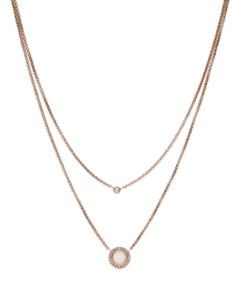 Halskette Classics aus Edelstahl mit Jade