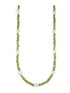 Halskette Diemer Farbstein Grün