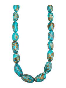 Halskette Diemer Farbstein Türkis