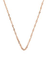 Halskette rosé vergoldet Petite