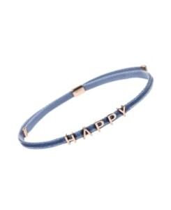 HAPPY VELVET Armband Blau
