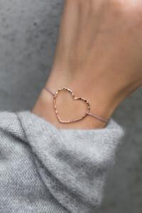 HEART Armband BEIGE