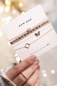 HEART Diamant Armband Roségold