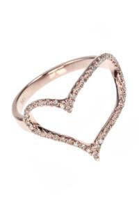 HEART Diamant Ring Roségold