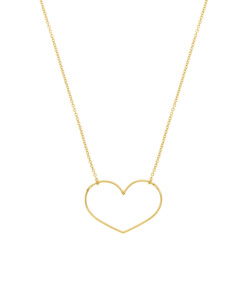 HEART Halskette|14K Gold