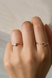 HEART Ring Roségold