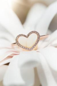 HEART Roségold Diamant Ring