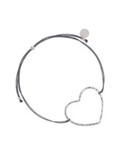 HEART|Armband Anthrazit