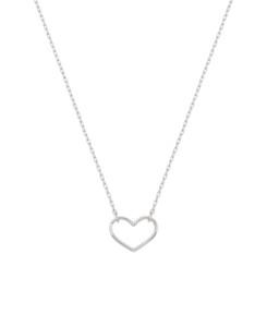 HEART|Halskette Silber