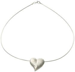 Herz-Collier 'Le Coeur', Version Silber, Collier, Schmuck