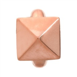 High Rise Rose Gold Charm 925er Silber