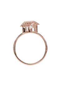 HOME Ring rosé vergoldet