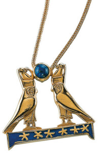 Horusfalken-Halskette, Collier, Schmuck