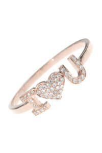 I♥U Diamant Ring Roségold