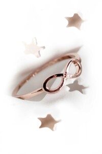 INFINITY Diamant Ring Roségold