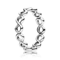 Infinity Ring 925er Silber