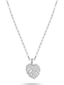 JETTE Damen-Kette 925er Silber 120 Zirkonia Jette silber