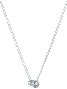 JETTE Damen-Kette 925er Silber rhodiniert 54 Zirkonia Jette silber