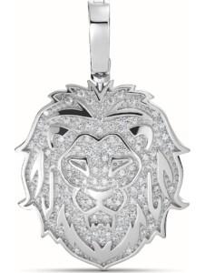 JETTE Silver Damen-Charm 925er Silber 61 Zirkonia Jette silber