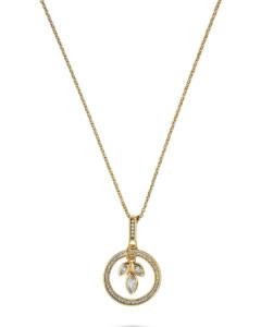 JETTE Silver Damen-Kette 925er Silber 54 Zirkonia