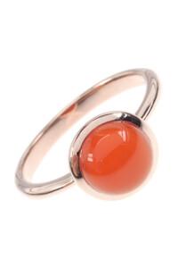 Karneol Roségold Ring