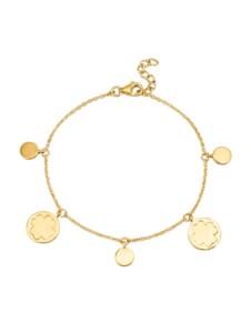 Kleeblatt-Armband Diemer Gold Gelbgoldfarben