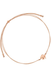 KLEEBLATT Armband rosé vergoldet