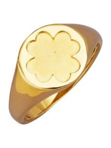 Kleeblatt-Ring Diemer Gold Gelbgoldfarben