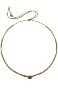 KNOT Choker Halskette vergoldet