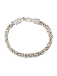 Königsarmband Diemer Trend Silberfarben