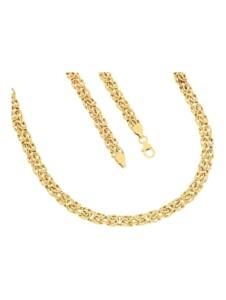 Königskette in Gold 585 Diemer Gold Gelbgoldfarben