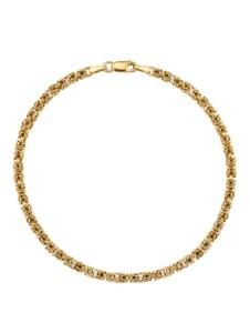 Königskettenarmband Diemer Gold Gelbgoldfarben