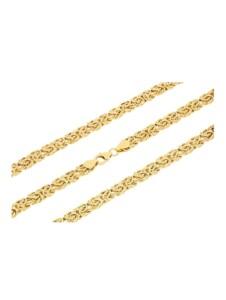 Königskettenarmband in Gold 585 Diemer Gold Gelbgoldfarben