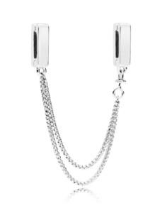Komfortkette Pandora Silberfarben