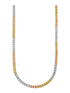 Kordelkette Diemer Gold Multicolor