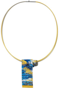 Kreuchauff-Design: Collier 'Blue Horizon', Collier, Schmuck