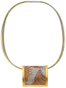 Kreuchauff-Design: Collier 'Fire & Ice', Collier, Schmuck