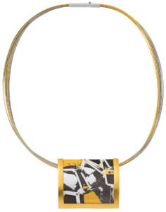 Kreuchauff-Design: Collier 'Grafic', Schmuck