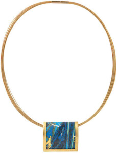 Kreuchauff-Design: Collier 'Magic Blue', Collier, Schmuck